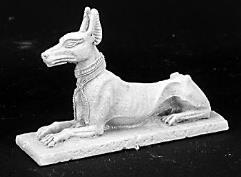 Egyptian Jackal Statue