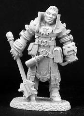 Silas - Male Cleric w/Mace & Shield