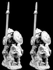 Dwarven Mounted Dragoon w/Lance on Rams