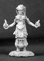 Ava - Female Wizard