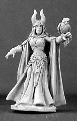 Kierra Darkdreamer - Female Wizard