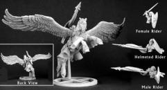 Burrow & Tempest - Paladin & Pegasus w/Optional Riders