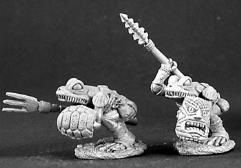 Frog Men Warriors