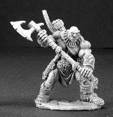 Thelgar - Half-Orc Barbarian