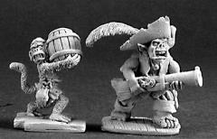 Goblin Pirate & Monkey