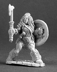 Jadeah - Female Half-Orc Barbarian