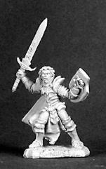 Auberus - Half-Elf Warrior