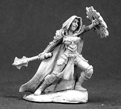 Sora Goldflame - Female Cleric