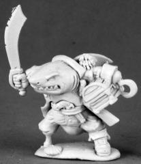 Rumscratch - Dwarf Wereshark