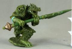 Kriv Blackspear - Dragonman Barbarian