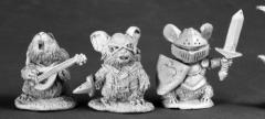 Mouslings - Bard, Thief, & Knight