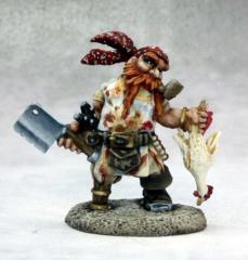 Gruff Grimecleaver - Dwarf Pirate Cook