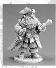 Barnabus Frost - Pirate Captain