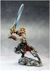 Deenah - Female Barbarian