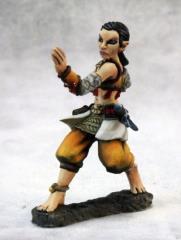 Esmeria - Half Elf Monk