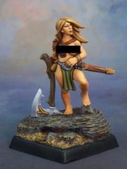 Tyrea Bronzelocks - Female Barbarian
