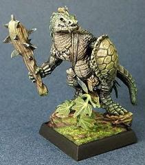 Lizardman w/Club & Shield