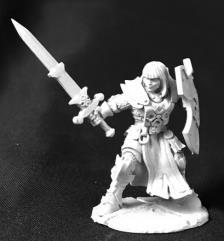 Ava Justina, Female Templar