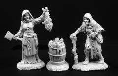 Townsfolk of Dreadmere - Fishwife and Crone