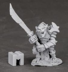 Armored Goblin Leader