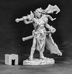 Talynth - Female Elf Barbarian