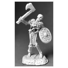 Bog Skeleton w/Axe & Shield