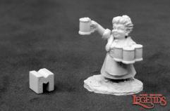 Poppy Cloverlocks, Halfling Barmaid