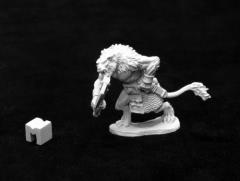 Azarmand - Catfolk Barbarian