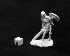 Bog Skeleton w/Sword & Shield