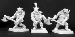 Bull Orc Berzerkers - Adepts