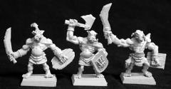 Bull Orc Fighters - Grunts