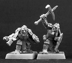 Dark Dwarf Warriors - Grunts