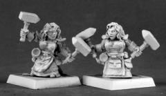 Dwarf Forgemaidens - Adepts