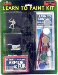 Learn to Paint Kit #1 - Armor and Fur (Master Paint Edition)