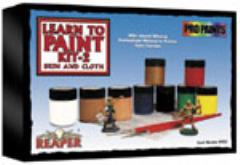 Learn to Paint Kit #2 - Skin and Cloth (Master Paint Edition)