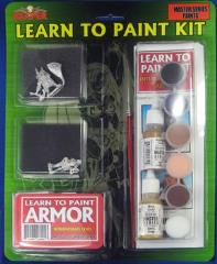 Learn to Paint Kit #5 - Armor, Intermediate Level (Master Series)