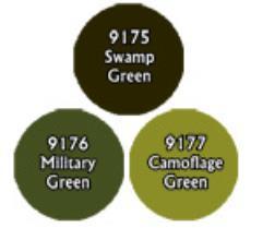 Camoflage Greens