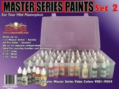 Master Series Paint Set #2 (09001-09054 w/Caddy)