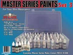 Master Series Paint Set #3 (09055-09111 w/Caddy)