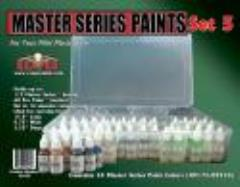 Master Series Paint Set #5 (09217-09270 w/Caddy)