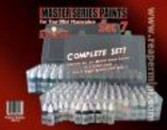 Master Series Paint Set #7 (09001-09270) - Complete Set