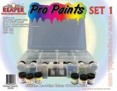 Pro Paints - Set #1 (19001-19054 w/Caddy)