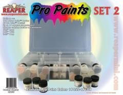 Pro Paints - Set #2 (19055-19108 w/Caddy)