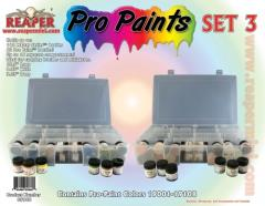 Pro Paints - Set #3 (19001 - 19108 w/Caddy) - Complete Set