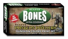 Dungeon Dwellers Paint Set - Dungeon Colors