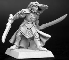Prince Danithal - Elven Fighter w/2 Swords