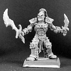 Dantral - Half-Orc Captain
