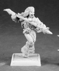 Kaya the Reaper - Barbarian Spearman Sergeant
