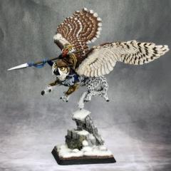 Hrolfgad Loftsaddle - Dwarf Griffon Rider