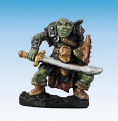 Orc Warrior w/Scimitar